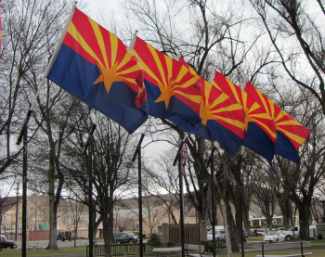 Arizona Flags - Carol Cox