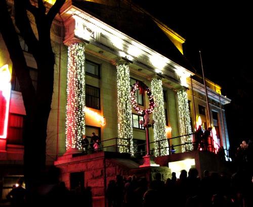 Lighted Plaza 1 - Carol Cox