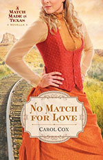 No Match for Love by Author Carol Cox