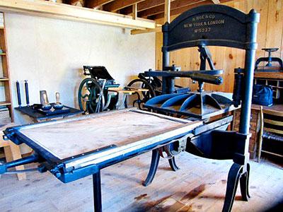 1800s printer