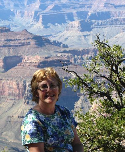 Blog - Carol at Grand Canyon